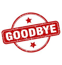 Goodbye sign vector