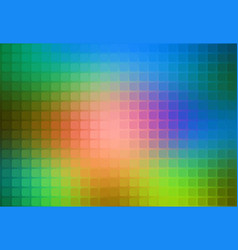 Pink green blue abstract rounded mosaic background vector