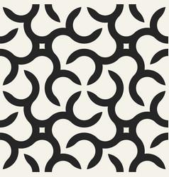 seamless geometric pattern - modern stylish vector image