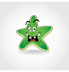 Star Cartoon vector image vector image