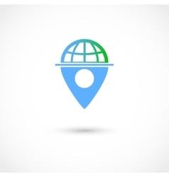 World tag vector image