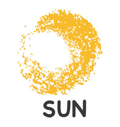 template for suny logo vector image vector image