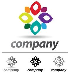 Windmill Logo vector image vector image