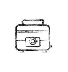 Toaster household appliances vector
