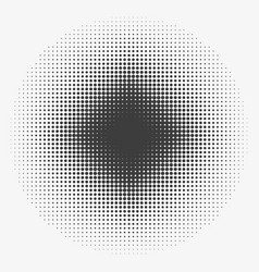 abstract halftone circles halftone dots pattern vector image