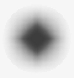 Abstract halftone circles halftone dots pattern vector