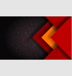 abstract modern mesh background with hexagon vector image