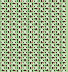 Abstract seamless pattern geometric pixel stylish vector