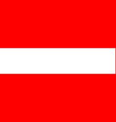 austria flag official colors correct proportion vector image