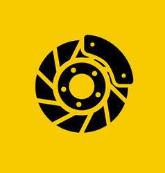 Automobile disc brake brake block car wheel vector