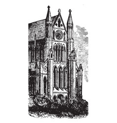 beverly minster vintage vector image
