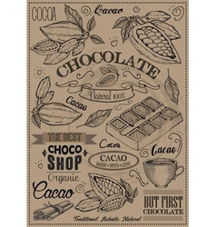 Cacao Icon Set vector