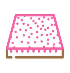 Carpet floor color icon vector