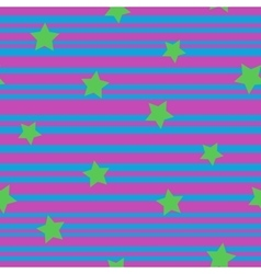 Line and star seamless pattern 5808 vector image