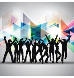 party people 2409 vector image