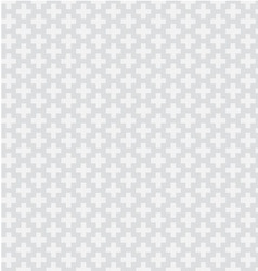 plus pattern background vector image