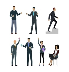 Set people managers wishing to show good result vector