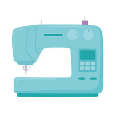 Sewing machine needle dressmaking object icon vector