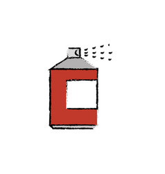 spray bottle icon vector image