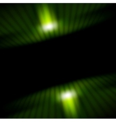 Technology green striped motion background vector image