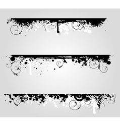 grunge lines vector image vector image