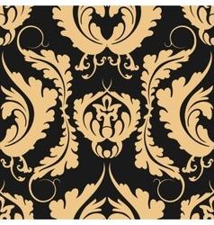 Vintage seamless pattern Damascus Elegant large vector image vector image