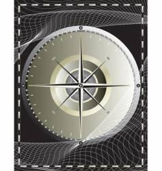 compass net vector image vector image