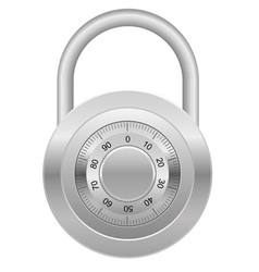 combination lock 03 vector image