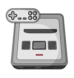 game console single icon in cartoon style for vector image