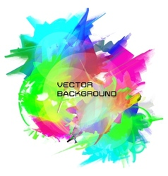 oil painting background vector image