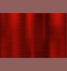 Red metal texture scratched shiny 3d surface vector