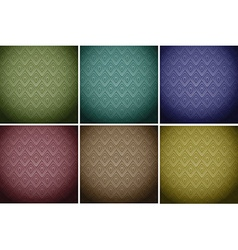 Wallpaper tiles in colours vector