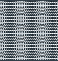abstract triangle pattern repeat blue color on vector image