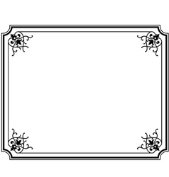 frame magasin 3 vector image vector image