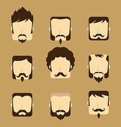 Gentleman avatar portrait icon vector