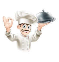 gourmet chef vector image vector image