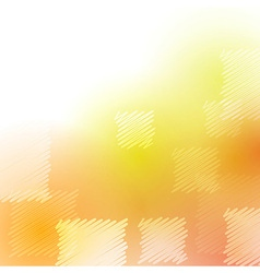 Abstract summer poster with square elements vector image