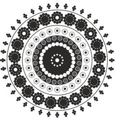 Circles in circles vector