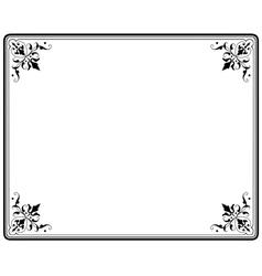 frame magasin 4 vector image