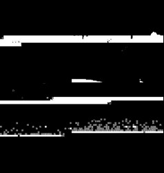 Glitch overlay background vector
