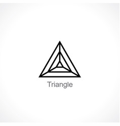 triangle vector image