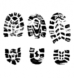 set of black crosses stamps vector image