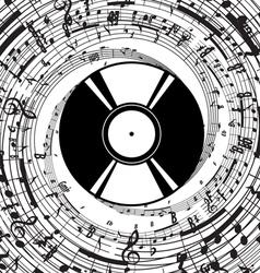 VinylPlate vector image vector image