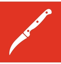 The Knife for cleaning vegetables icon Knife and vector image
