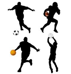 sport set vector image vector image
