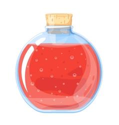 Big Elixir Bottle vector image vector image