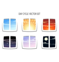 Day Cycle vector image