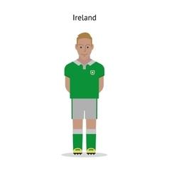 Football kit Ireland vector