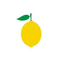 lemon fruit icon symbol eps10 vector image