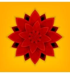 Mandala flower vector